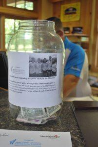 Donation jar at Meadowlands pro shop through June 17.